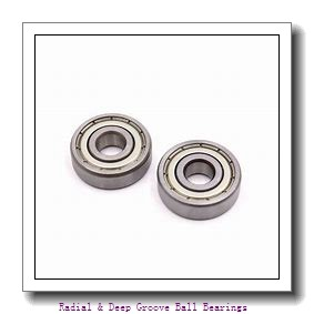 20 mm x 52 mm x 15 mm  Timken 304K Radial & Deep Groove Ball Bearings