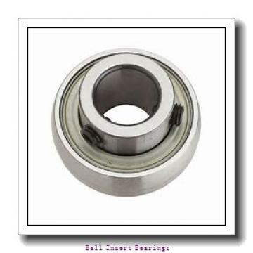 25,4 mm x 57 mm x 34,93 mm  Timken SM1100KS Ball Insert Bearings